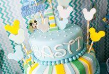 Brady's 1st Birthday Party Ideas / by Kristy Lane