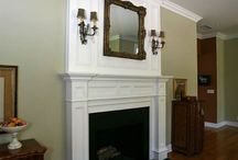 Ideas for Fireplace room / by Taryn Wright