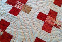 big stitch hand quilting / by Crafty Pug