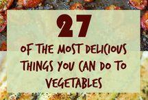 Veggies & Vegetarian options / by Jessica Spain