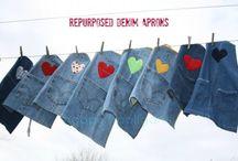 Recyklace jeans / by Gabriela Filzová