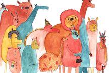 Illustrations / by Susan Flynn