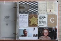 Project Life | Title and Transition Pages / by Annette Haring
