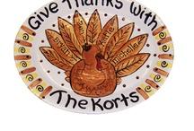 Thanksgiving platters / by Michelle Lecker-Saravanja