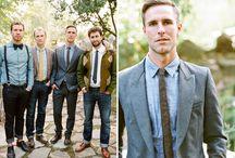 Men's wedding fashion / by Jess Marvel