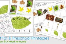 Preschool/Tot Packs / This section includes links to tot packs perfect for your preschooler / by Jennifer B.