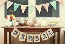 breakfast brunch party menu / by Jillian Hostnik (lovejilly.com)