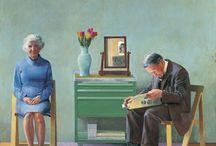 Art - Miscellaneous Artists / by Marian Van der Heemst