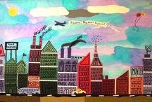 I <3 kids and art / by Char-Leah Hendricks