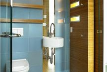 Tiny bathroom / by Susan In France