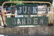 JUNK  GARDEN / by annatgreenoak..