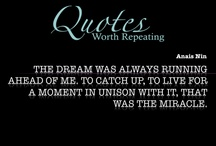 { Dream Quotes } / by QuotesWorthRepeating