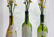 garrafas decoradas / by Suenia cabral