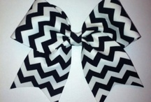 Cheer bows 🎀 / by Autumn Moore