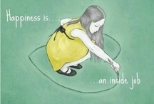 Happiness is an inside job! / Inspirational quotes / by Elizabeth Petruccione