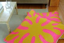 floor pillow ideas / by Nima Titus
