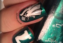 Talon Art / Show off your #Eagles pride all the way to your fingertips with some Eagles nail art! / by Philadelphia Eagles