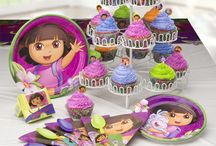 Have an adventure themed party with Dora! / Party supplies, favors, accessories and more - all with a Dora theme. / by SmileMakers