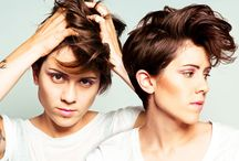 Tegan and Sara / by Triszh Hermogenes