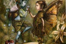 fairies-angel / by Marilin Adams