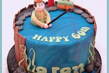 CAKES - HIS BIRTHDAY / Cakes for the man in your life / by Lisa Jones Czarnik