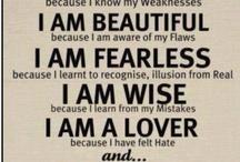 Sayings I Love / by Sabrina Rose