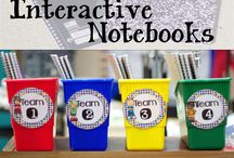 Interactive Notebooks / by Kathy Robinson