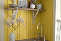 Tiny Kitchen Ideas / by Tumbleweed Tiny House Company
