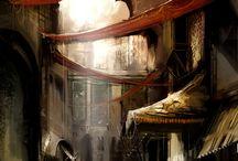 Art {Illustration:Fantasy Scenes} / by Danielle Ward
