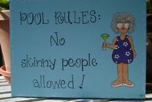 Pool Rules / by Nancy Black