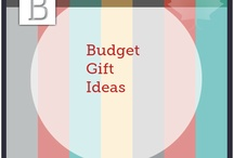 Budget Gift Ideas / Gift giving doesn't have to break your bank.  Share your gift ideas here. / by Personal Bankruptcy Canada