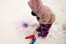 snowy day activities  / by Stephanie Phillips-Porter