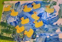 Letter D: ducks / by Izzie, Mac and Me