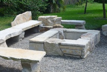 Backyard Fire Pits by Waterfalls Fountains & Gardens Inc.s / by Waterfalls Fountains & Gardens Inc.
