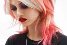 Hair I love / I see a pastel theme here that I'm strangely drawn to! / by Jane Jenkins