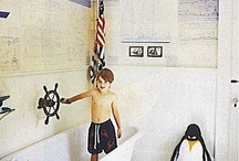 Nautical bathroom ideas / by Alisha Dawn
