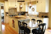 kitchen and bath ideas / by Shelly&Paige Bowman