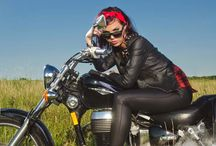 Motorcyle Chick / by Jackie Green