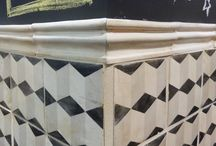 Fancy facade / All things decorative tiled wall / by Denise Lachinski