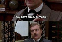 Sherlock Holmes / Sir Arthur Conan Doyle needs a place for his work! / by Andrea Smith