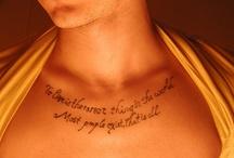 ink I love / by Jess Cranton
