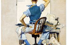 NORMAN ROCKWELL / by Diane Hartwick