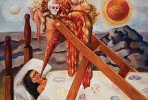 Frida Kahlo - Art, Photos, Love / the wonderful, beautiful, amazing art of Frida / by Jilly Beanz
