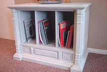 This to That / New furniture from old wooden TV cabinets. / by Bonnie Moran