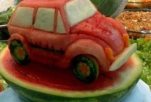 Watermelon Art / Craft / by Anne-Louise Surma-Hawes