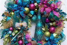 Christmas wreath ideas / by Tina Townley