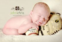 Baseball Baby Photography  / Baseball theme photography for babies / by Cheyenne Collums