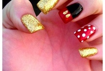 Disney nails. ❤️ / by Emily Hrabak