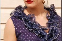 """Vintage Fashion Re-Design / Fashion designers from Auburn University take existing vintage pieces and re-design them, transforming them from """"frumpy to fun"""". / by Sydney's Vintage Clothing"""