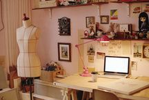 craft rooms / by Renee Phillips